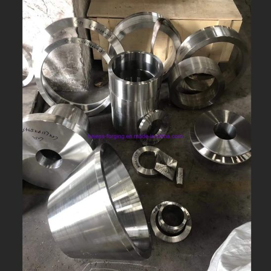 CNC Machining of Stainless Steel Automobile / Tractor / Truck Forgings