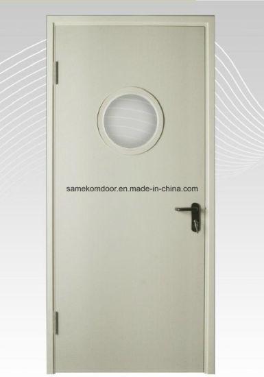 Aluminum Door Frame Emergency Fire Hospital Door