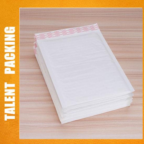 Water-Proof White Yellow Self-Adhesive Kraft Bubble Padded Envelopes