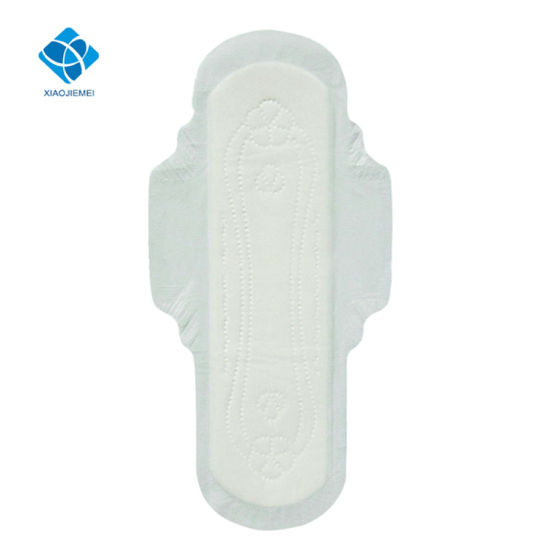 Overnight Use Super Ultra-Thin Lady Cotton Feminine Hygiene Sanitary Pad pictures & photos