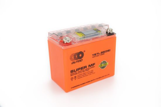 12V 7ah Yb7l-BS 12n7l Outdo Digital Display Gel Mf Maintenance Free Factory Activated Power Sports High Performance Rechargeable Lead Acid Motorcycle Battery
