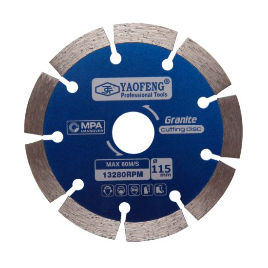 Professional Tools Wholesale Diamond Saw Blade 4.5inch Diamond Cutting Disc Dry Cutting Blade for Marble Stone Concrete