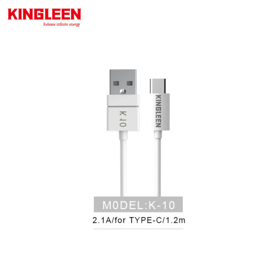2.1A Output USB Data Cable for Type-C Exclusive Use