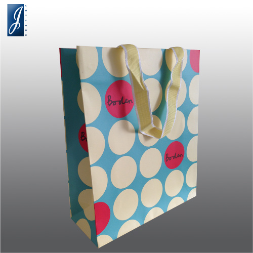 Professional Customized Paper Gift Shopping Bag for Packaging and Promotion