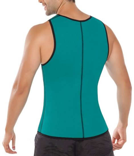 abc7f39ea77 Men′s Sweat Vest Waist Trainer Hot Body Shaper for Weight Loss Side Zipper  Neoprene Burn Fat Sauna Suit Tank Top