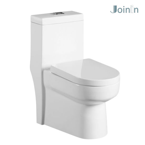 Sanitary Ware Bathroom Ceramic Wc One Piece Toilet Bowl From Chaozhou (JY1313) pictures & photos