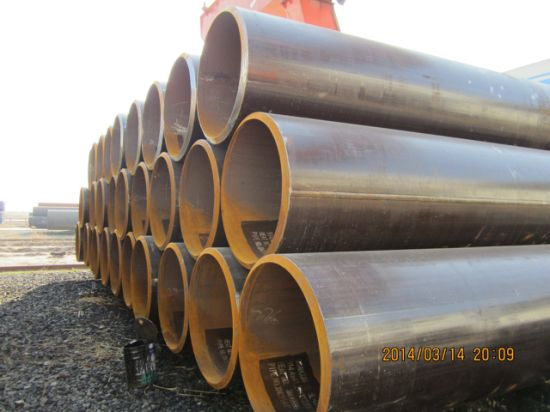 API 5L Psl1/ Psl2 X60 16inch Sch20 ERW/SSAW/LSAW Welded Steel Pipes