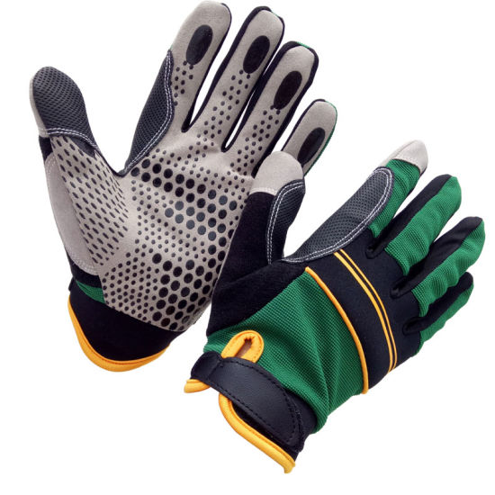 Customized Silicone Grip Auto Mechanics Glove