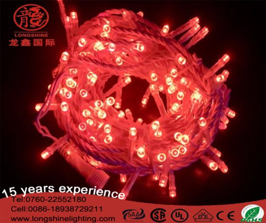 LED IP44-IP68 Christmas Light String for Indoor/Outdoor Christmas Decoration Fairy Light