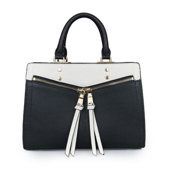 Lady Handbag Fashion Genuine Pebble Leather Designer Hand Bag