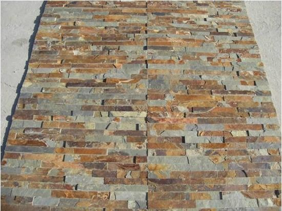 Customized Natural Concrete Slate Culture Stone for Wall
