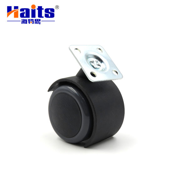 High Quality 50mm with Plate or Bolt Plastic Caster Wheel