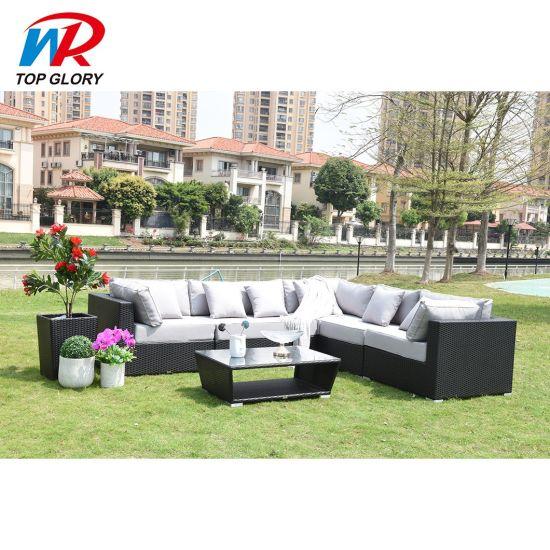 Modern Customized Hot Sale Leisure Home Garden Sets Outdoor Garden Sofa