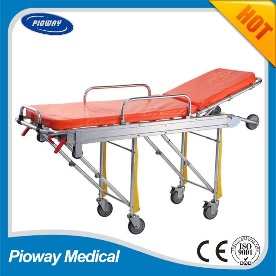 Aluminium Alloy Ambulance Stretcher, Transport Emergency Stretcher, Light, Safe and Reliable (RC-A2)