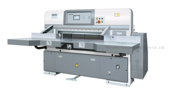 Hydraulic Digital Display Double Guide Paper Cutter Hyq-1300