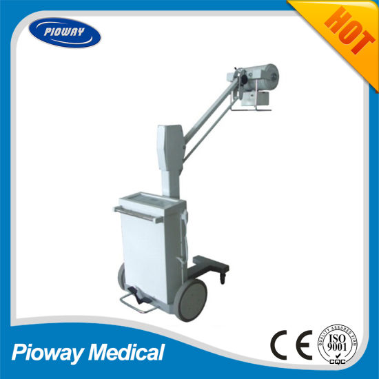 Medical Equipment Mobile Analog Radiography System 100mA X-ray Machine (SF100BY)