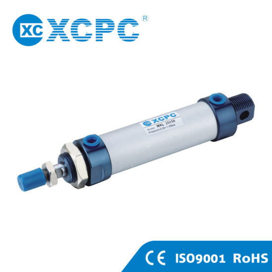 Customized ISO6432 Ma Mal Mi Dsnu Products Rotary Actuator Twist Clamp Micro Stainless Steel Air Mini Cylinder