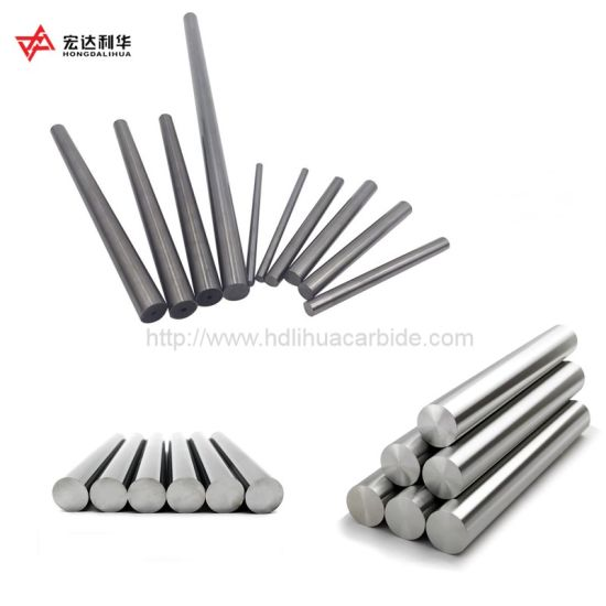 High Hardness Cemented Carbide Extrusion Round Rods for Cutting Tools