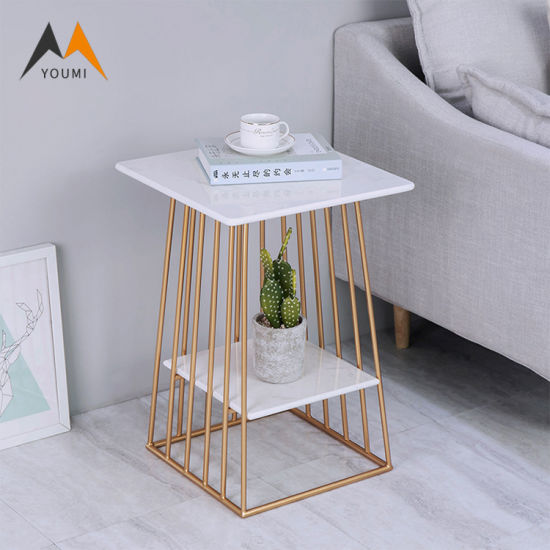 Cheapest Customized Unique Living Room Modern Metal Bed Side Table