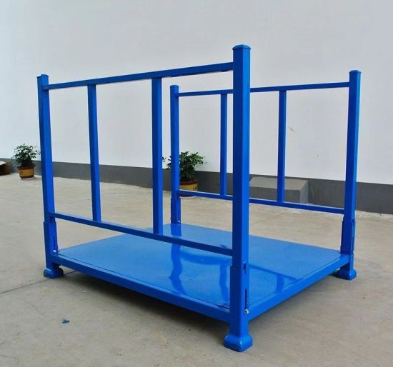 Collapsible Powder Coating Portable Adjustable Steel Tire Rack pictures & photos