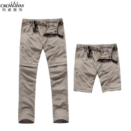 Wholesale Mens Best Plain Softshell Outdoor Lightweight Quick Dry Trekking/Hiking Pants pictures & photos