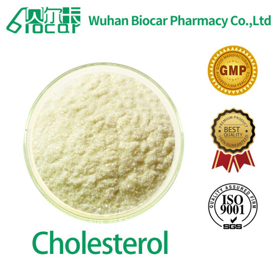 99.6% High Purity Cholesterol CAS: 57-88-5 with Best Price