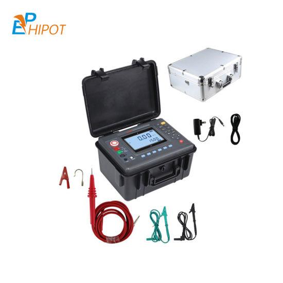 10kv Megohmmeter, Digital Insulation Resistance Meter, 250V/500V/1000V/2500V/5000V/10000V10kv Megger Meter