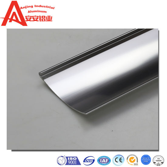 Customized Aluminum Profile Bathroom Toilet Hardware Parts Sanitary Ware