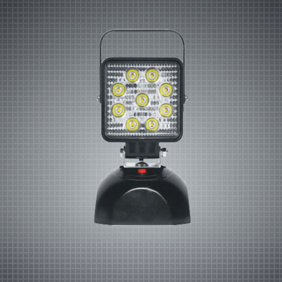 Portable Green 27W Rechargeable LED Worklight