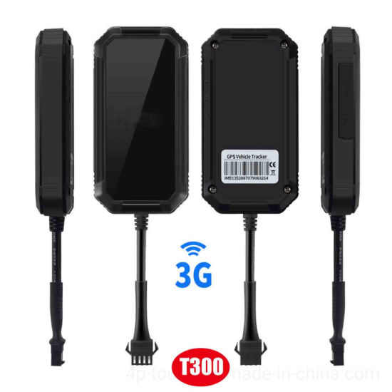 Waterproof 3G WCDMA GPS Vehicle Tracking System T300