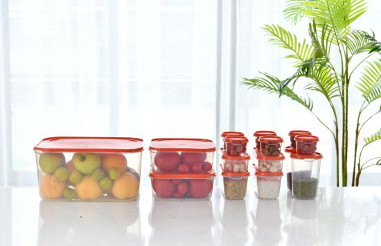 FDA LFGB 30-Piece Set Easy Find Lids PP Food Storage Container