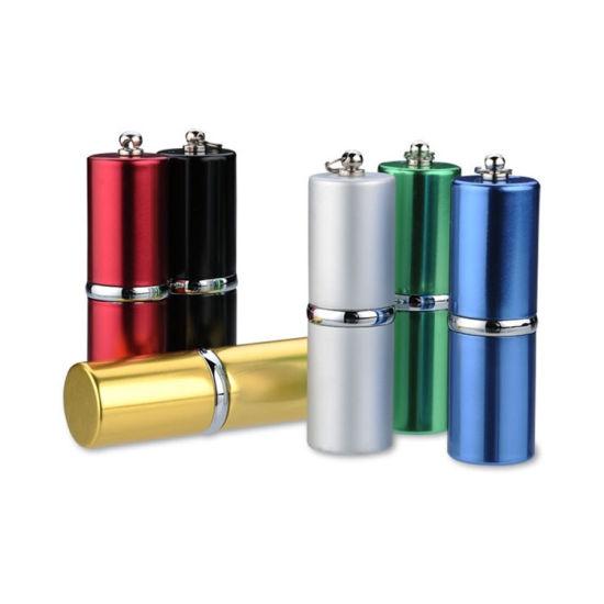 Metal Lip Stick Metal USB Flash Drive for Gift