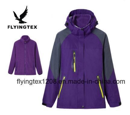 Fashion Women 3 in 1 Winter Jackets Fleece Inner