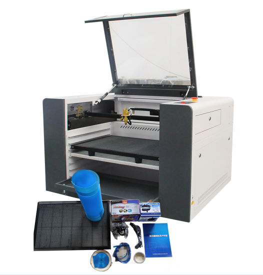 CE 50W 60W CO2 3D Mini CNC Laser Cutter Engraver Price 4060 Small Laser Cutting Machine