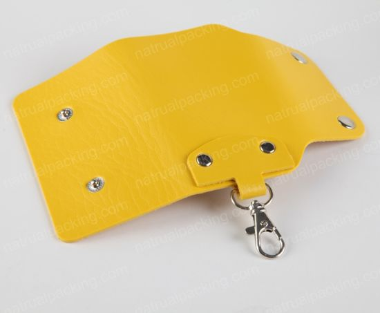 High Quality New Style Felt Key Case Holder Bag, Car Key Holder pictures & photos