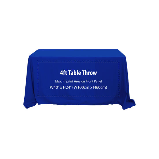 4FT Custom Table Cloths & Portable Table pictures & photos