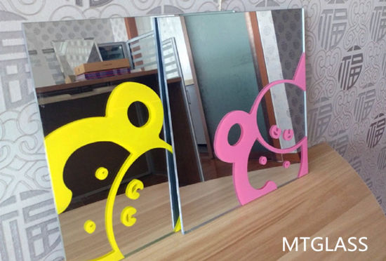 Top Quality Silk-Screen Printing Mirror with Ce and SGS Certification