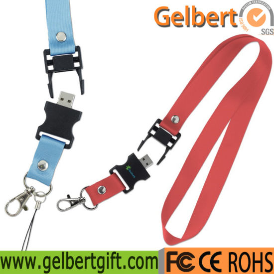 Colourful Custom Lanyard USB Flash Memory pictures & photos