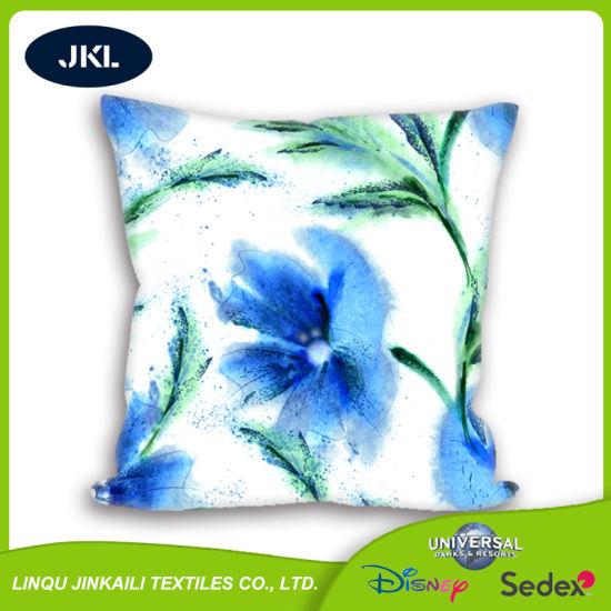 Luxury Five Star Hotel Cotton Micro Fiber Pillow Down Like Silk Pillow Down Feather Sofa Cushions