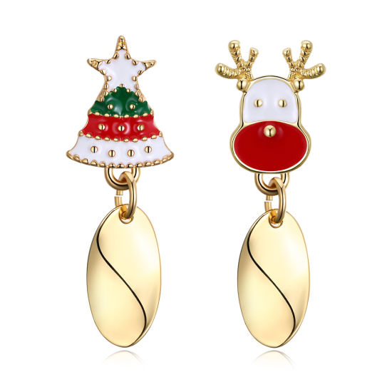 Christmas Jewelry Women Fashion Christmas Trees Earring Promotion Gift pictures & photos