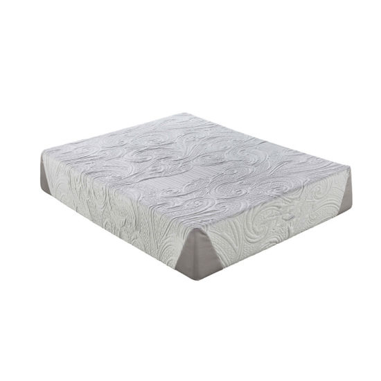 "12"" Inch Thick Roll up Queen Gel Memory Foam Latex Bed Mattress"