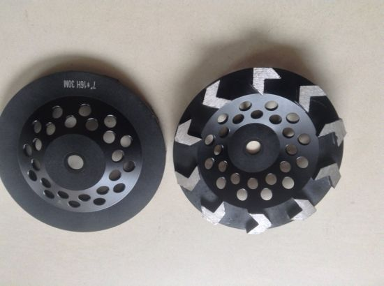 Diamond Arrow Seg Grinding Cup Wheel for Polishing Concrete pictures & photos
