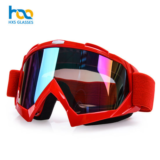 Outdoor Sports Safety Eyewear Motocross Mx Glasses Dirt Bike Goggles