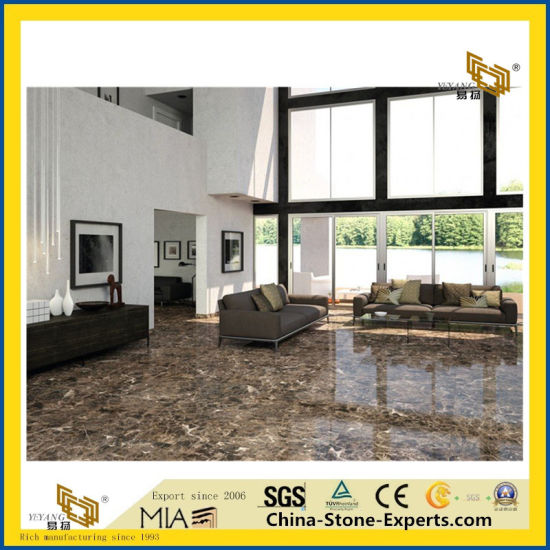 Polished Emperador Dark Marble Tiles for Wall & Floor pictures & photos