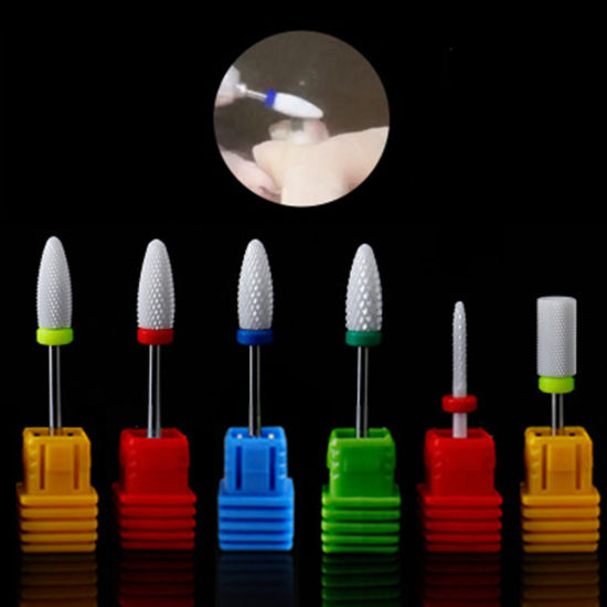 Colorful Professional Ceramic Drill Bits for Nail Art pictures & photos