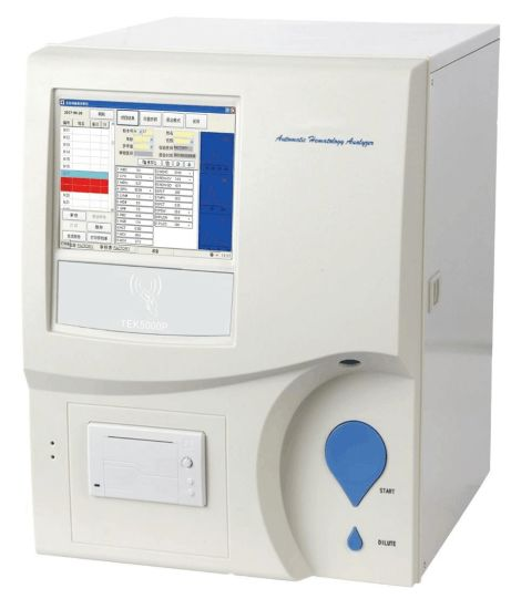 Ha5000 3-Part Diff Fully Automatic Hematology Analyzer Blood Cell Analyzer,  Medical Equipment