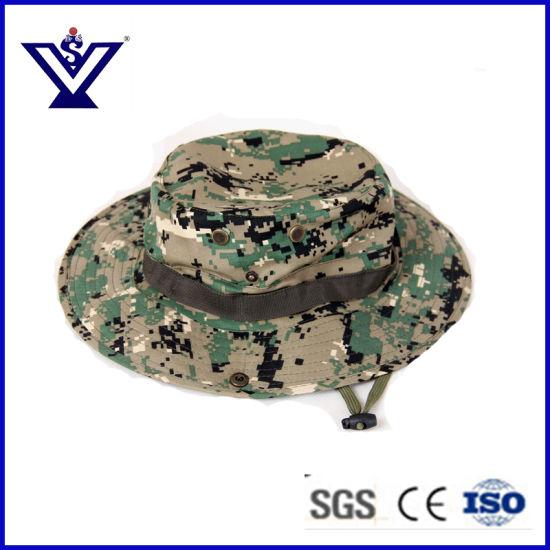 China Camo Military Jungle Fishing Hunting Bucket Cap (SYSG-201835 ... aeafc3cc16e5