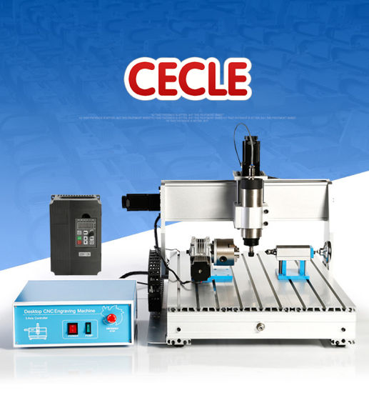 New Arrival CNC Router Machine Price 3 Axis USB Interface 6040 Four Axis Included pictures & photos