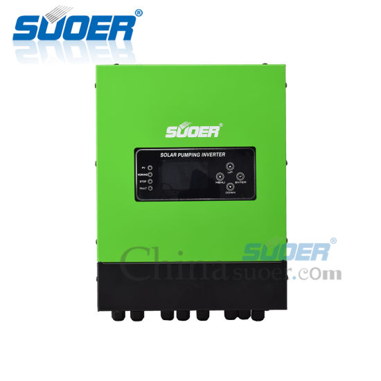 Suoer 11kw 380V 3 Phase Pumping Inverter Solar Power Water Pump Inverters with RS 485