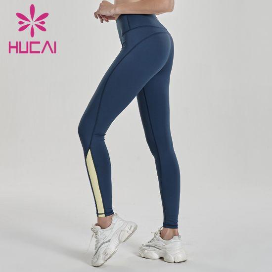 Women Compression Color Gym Yoga Wear Sports High Waist Leggings